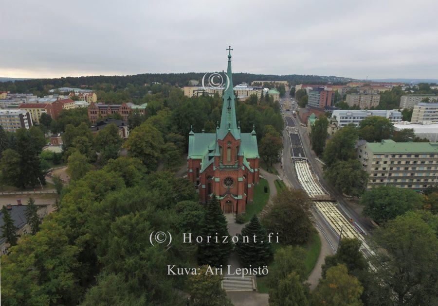 KIRJASTO METSO, kuva nro 1 – Tampere, 9/2018 | HORIZONT – Ilmakuvaus