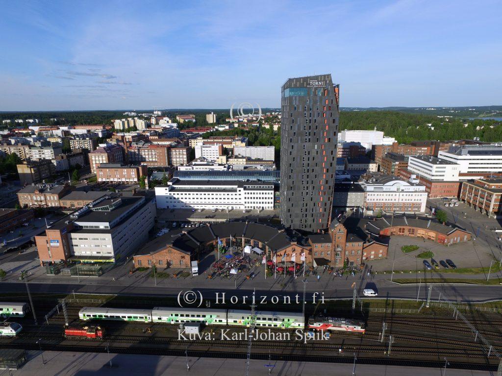 ilmakuva hotelli torni