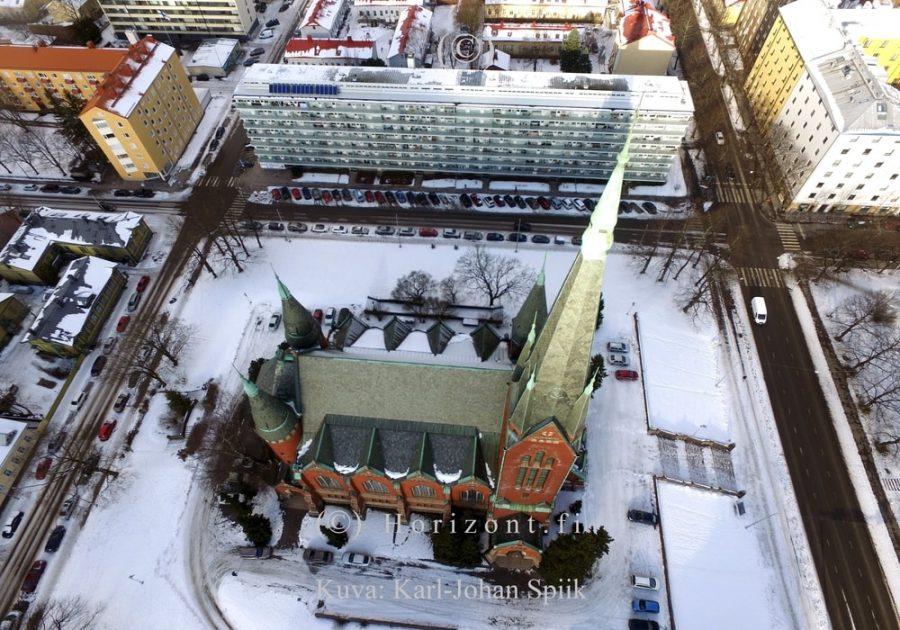 ilmakuva kirkko turku