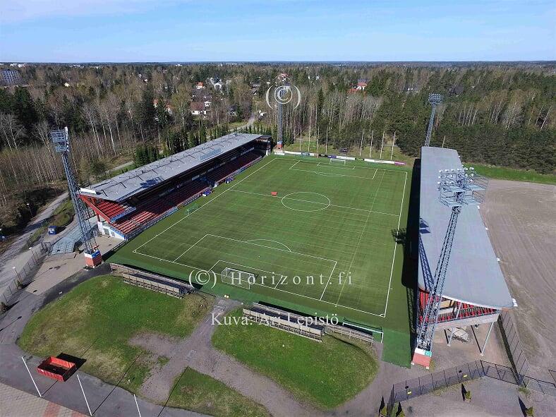 JALKAPALLOSTADION – Vantaa, 5/2018