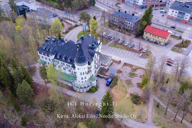 ilmakuva hotelli imatra