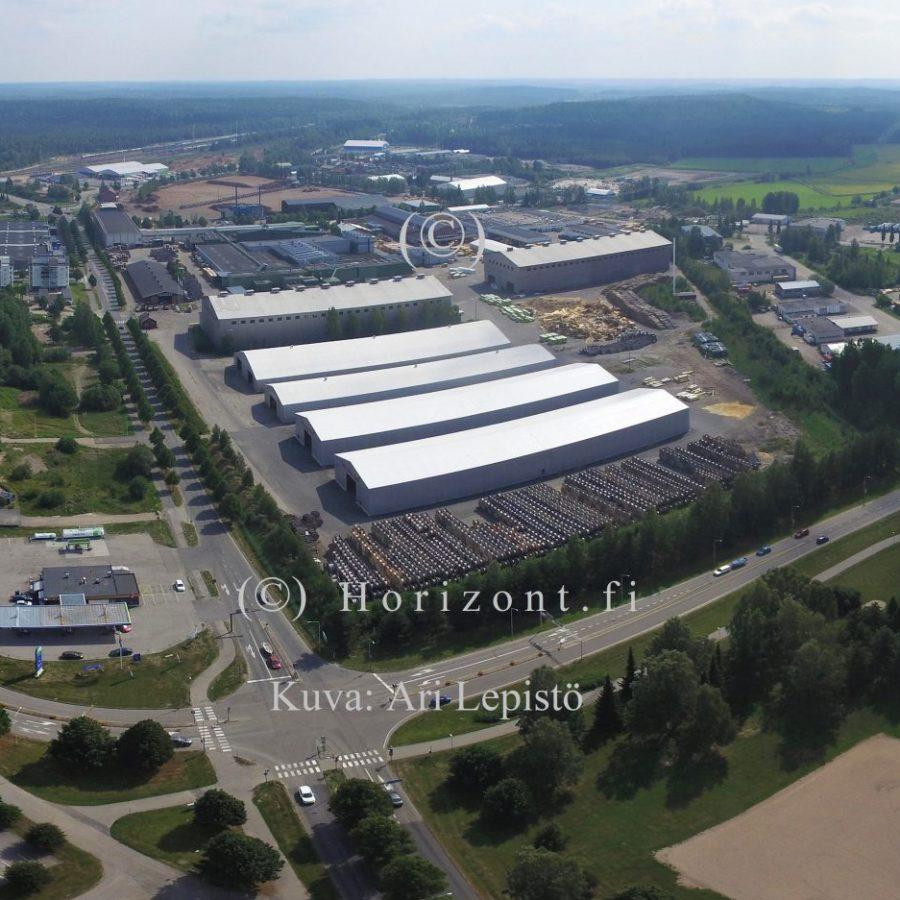 ilmakuva tuotantolaitos