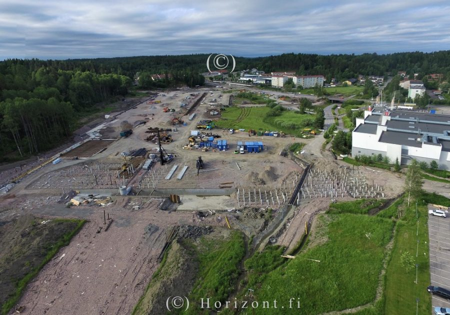 VIIRINLAAKSON TYÖMAA - Nurmijärvi, 7/2017