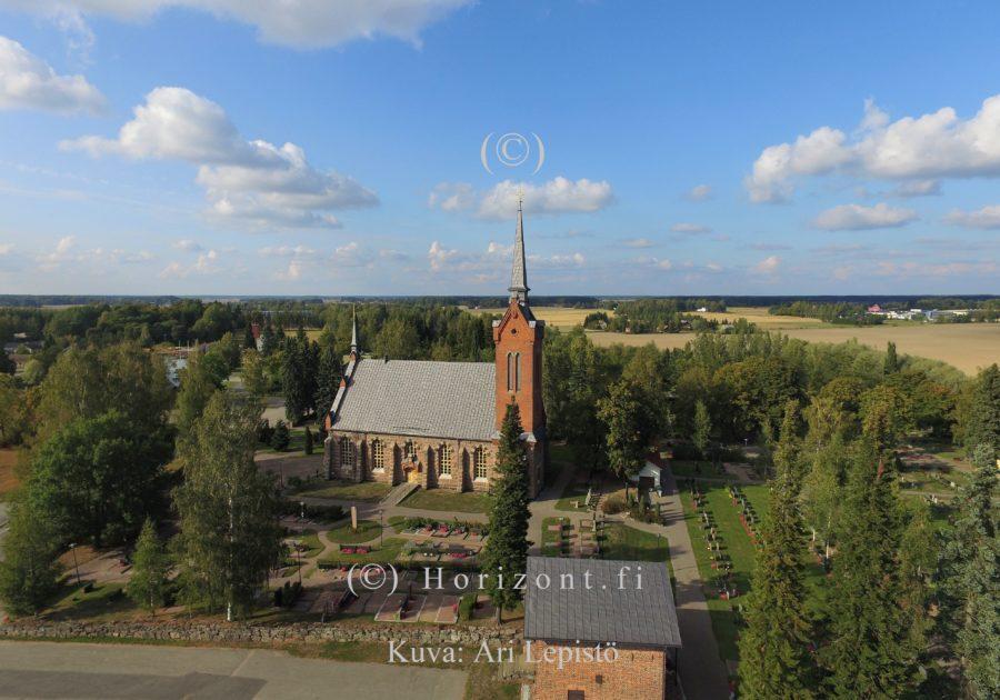 ilmakuva euran seurakunta