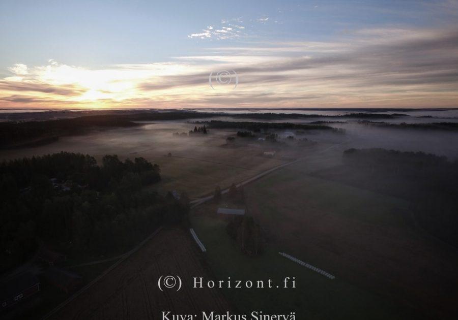 AURINGONNOUSU KESÄ - Hausjärvi, 2016
