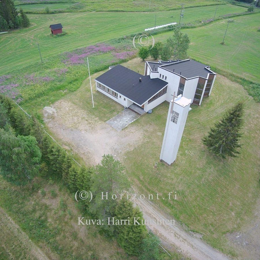 HAUTAJÄRVEN KIRKKO – Salla, 7/2018