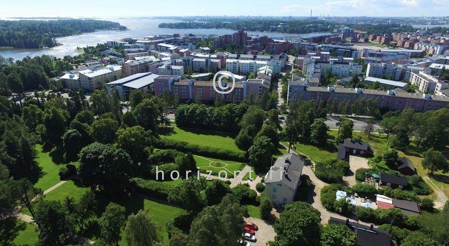 SIIRTOLAPUUTARHA HERTTONIEMI - Helsinki, 6/2017