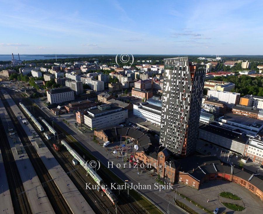 HOTELLI TORNI - Tampere, 2016