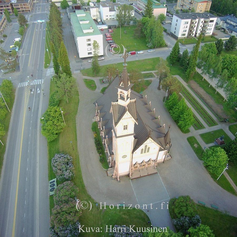 KAJAANIN KIRKKO - Kajaani, 7/2017