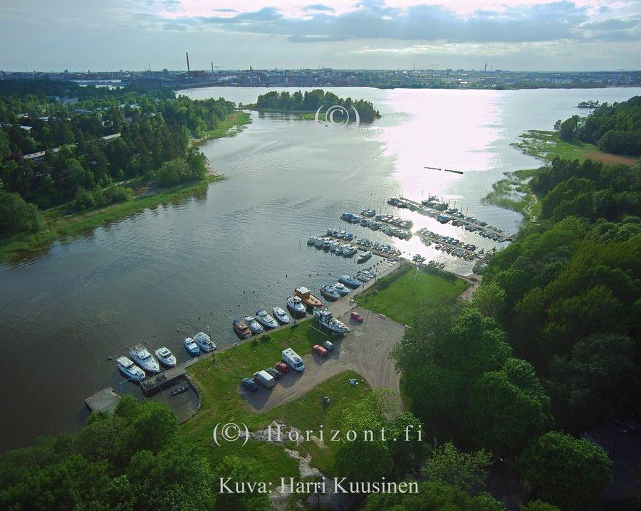 PIENVENESATAMA KULOSAARI - Helsinki, 6/2017