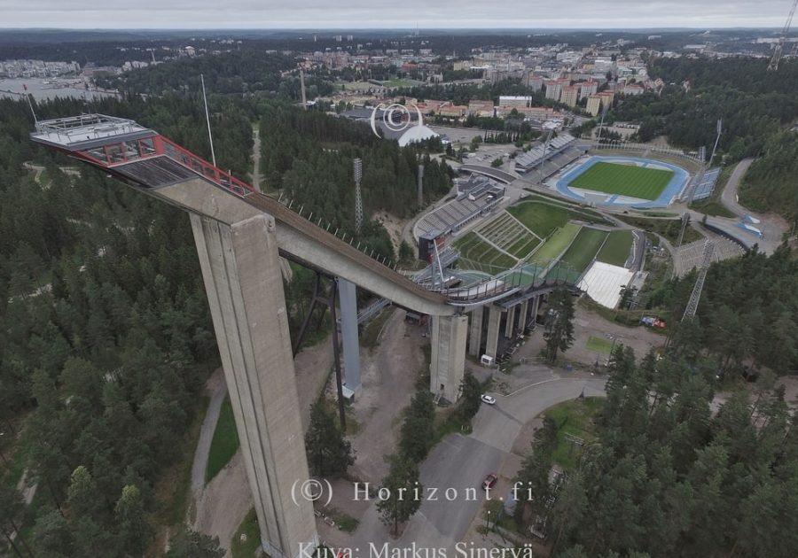 SALPAUSSELÄN HYPPYRIMÄET - Lahti, 8/2017