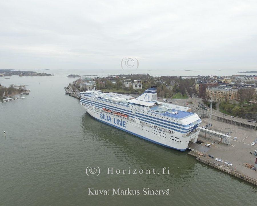 MATKUSTAJALAIVAT - Helsinki, 5/2017