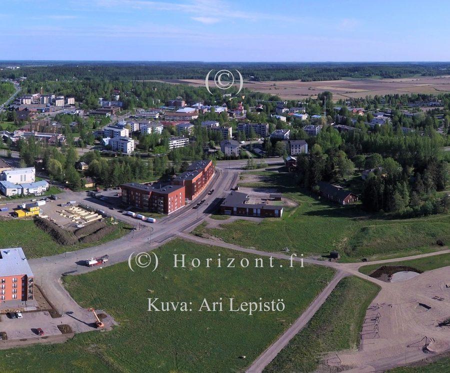 ilmakuva kirkonkylä nurmijärvi