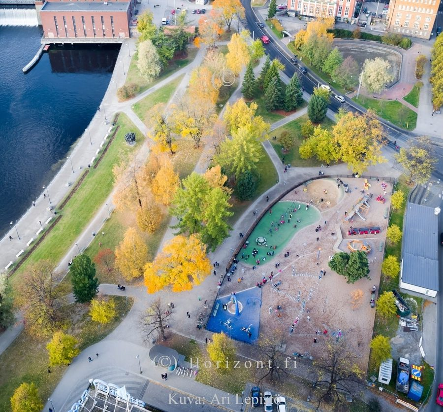 KOSKIPUISTO - Tampere, 2016