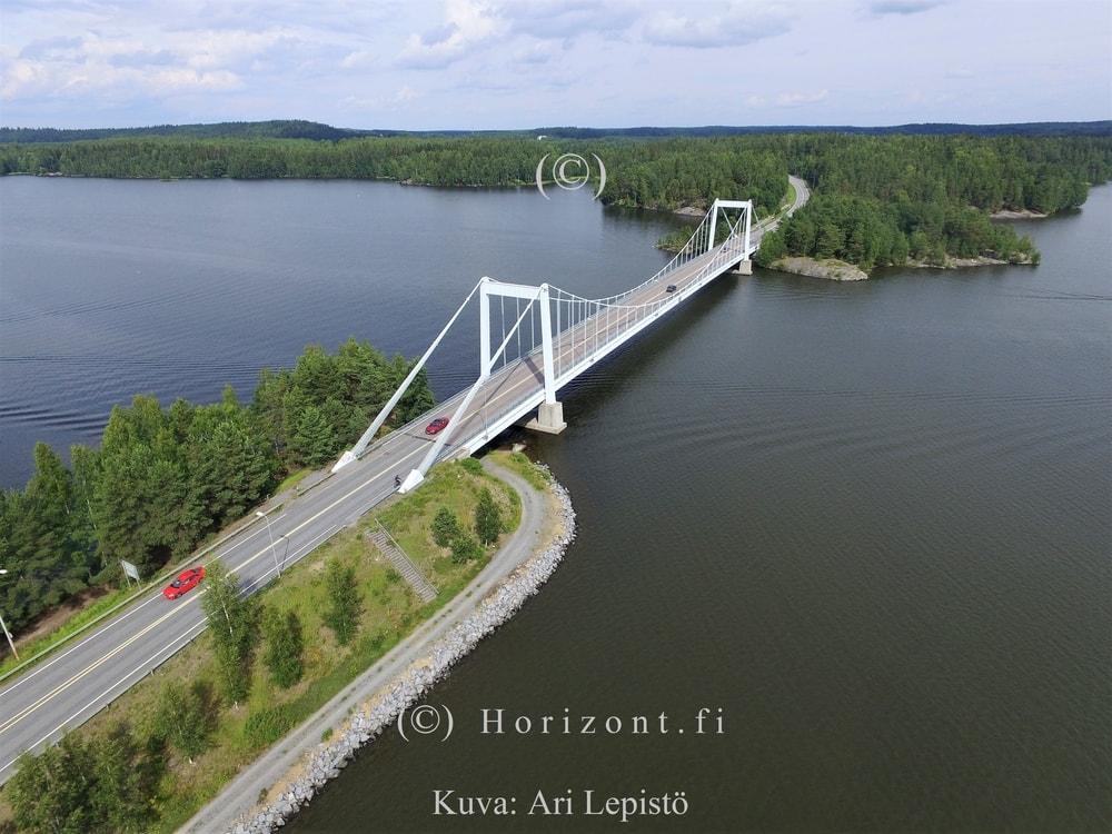 ilmakuva sääksmäen silta