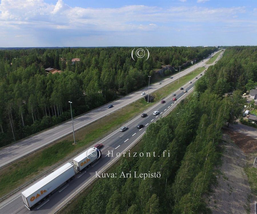 MOOTTORITIE E75 – Vantaa, 6/2018