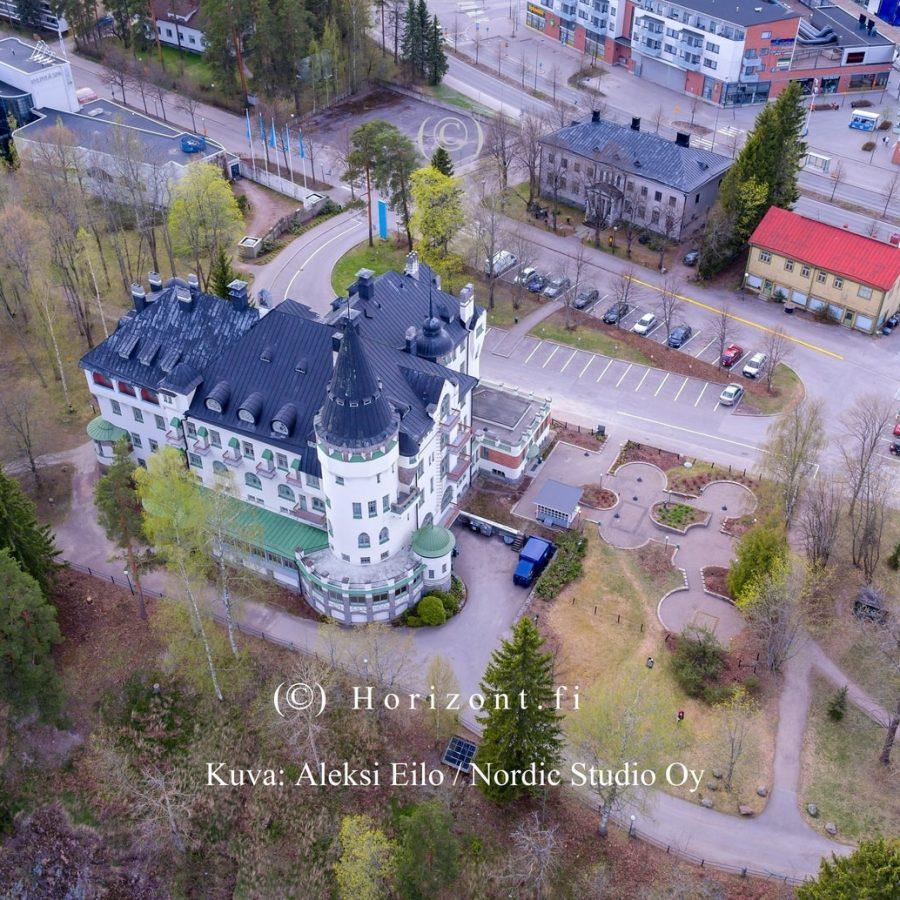 ilmakuva imatran valtionhotelli