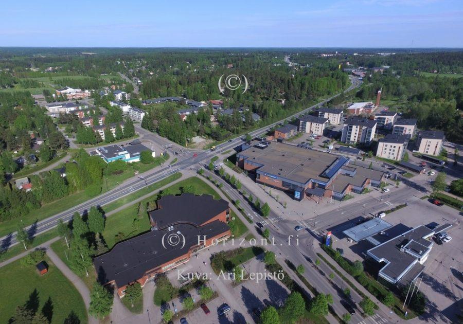 ilmakuva nurmijärven kirkonkylä