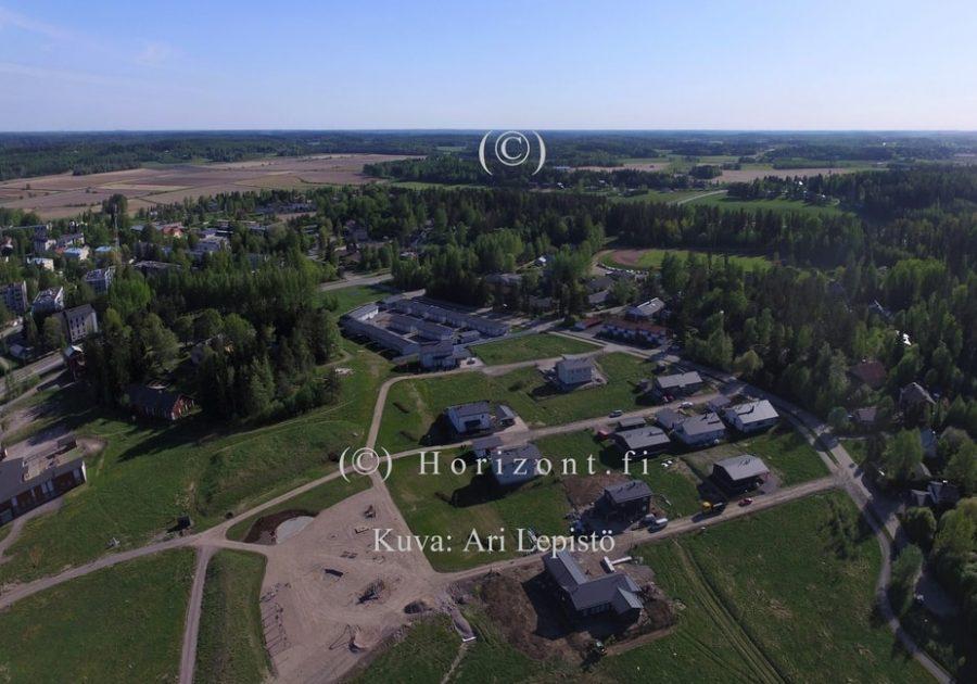 ilmakuva laidunmaa kirkonkylä nurmijärvi