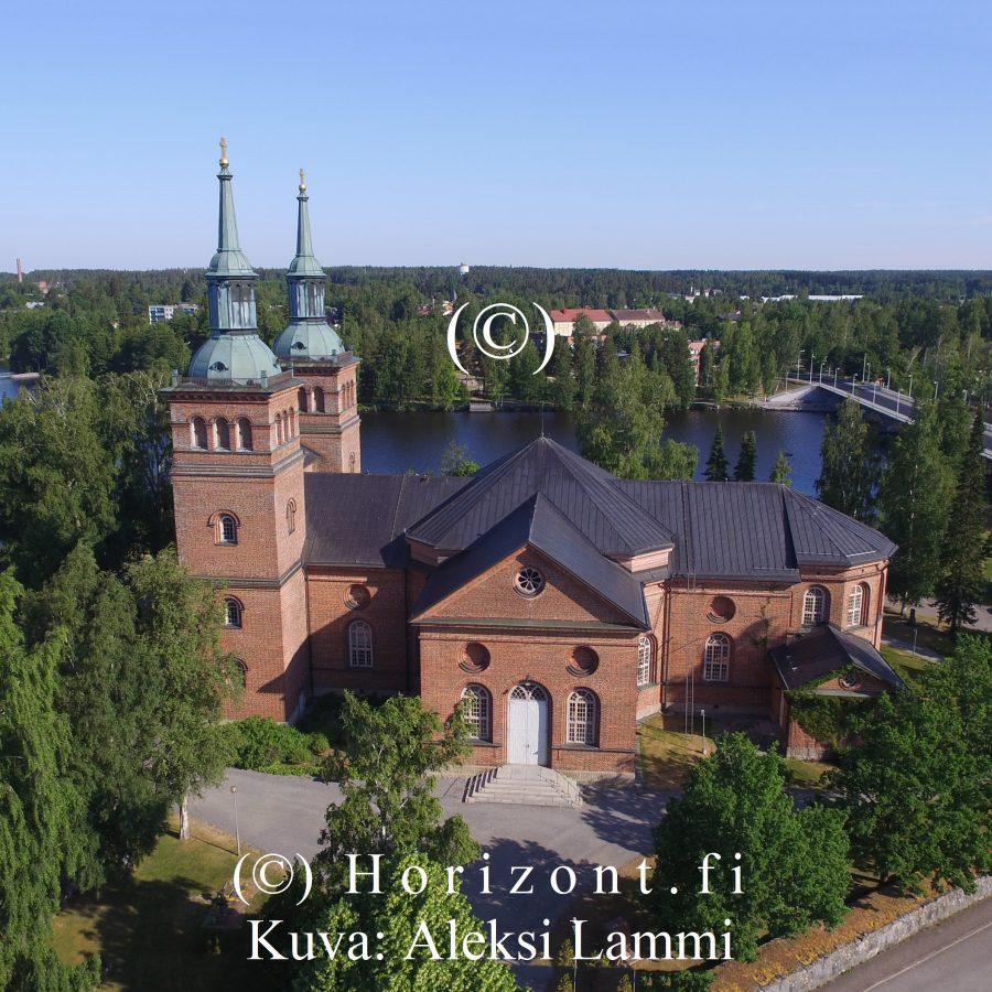 TYRVÄÄN KIRKKO – Sastamala, 7/2020