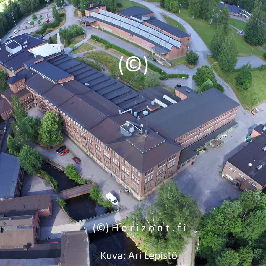 aerial photo factory